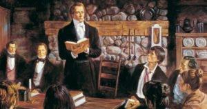 Mormon Church Organized