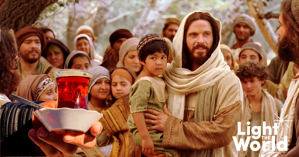 Light the world - Day 7 - Suffer the Little Children to Come unto Me