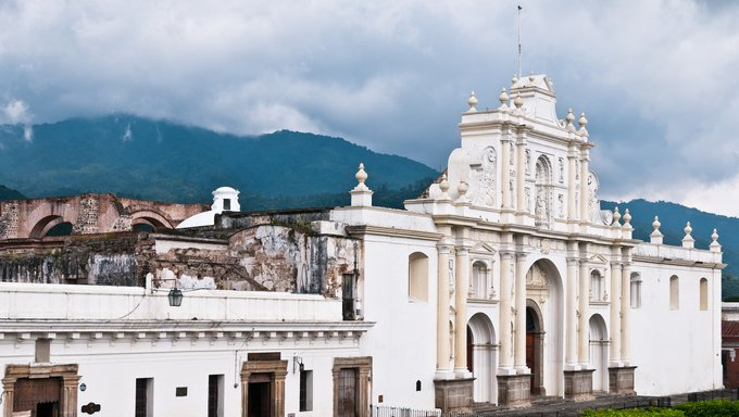 Ancient cathedral in Nicaragua partly in ruins after earthquake