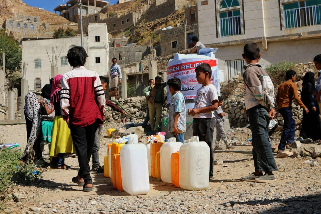 Yemen relief via LDS Charities and Partners
