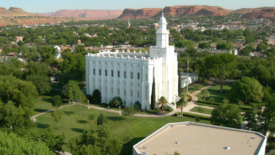 The St. George Utah Temple, dedicated in 1877 | Photo: Mormon Newsroom
