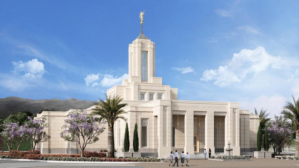 Artist's rendering of the Quito Ecuador Temple | Intellectual Reserve