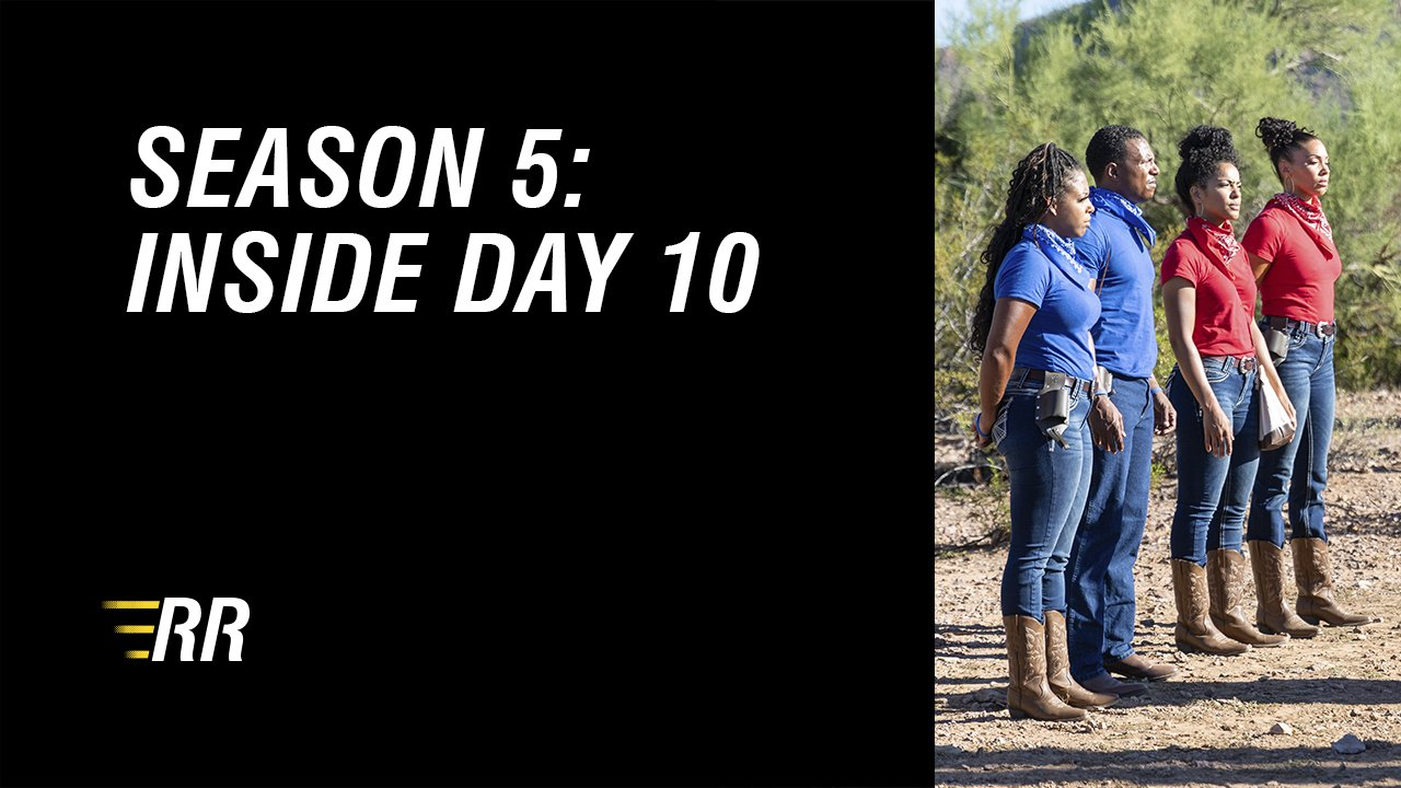 On day 10, it all comes down to a head-to-head match up between Team Blue and Team Red in beautiful Tuscon Arizona.
