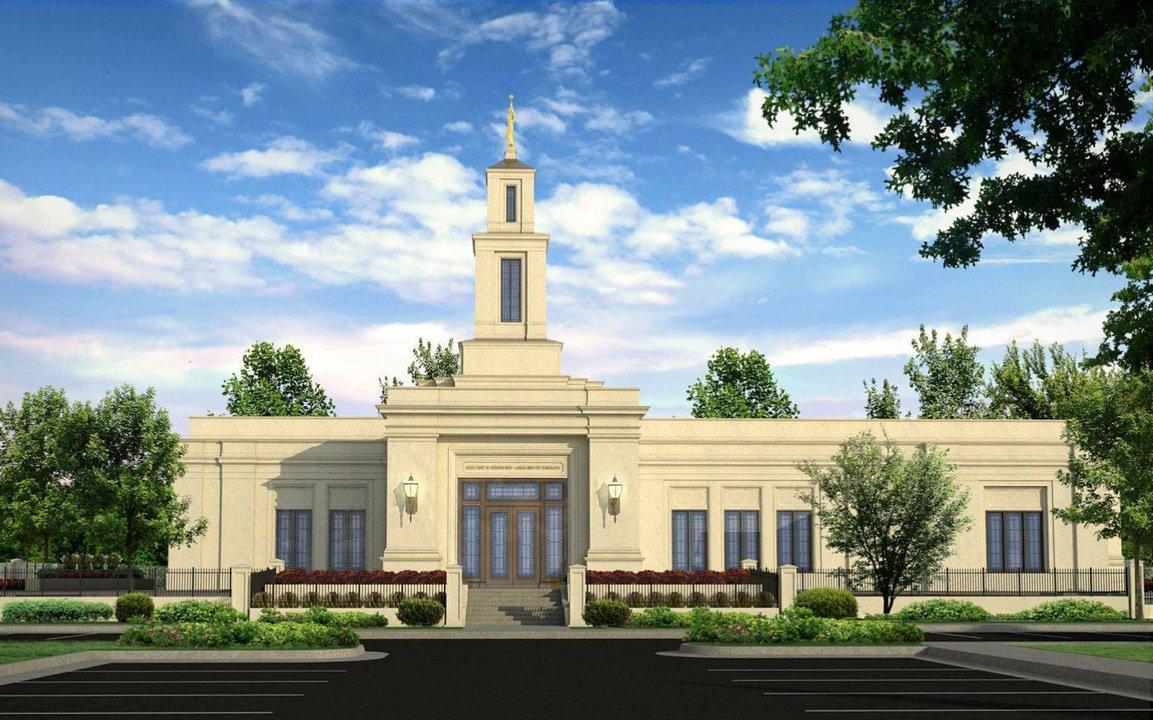 Raleigh North Carolina Temple rendering
