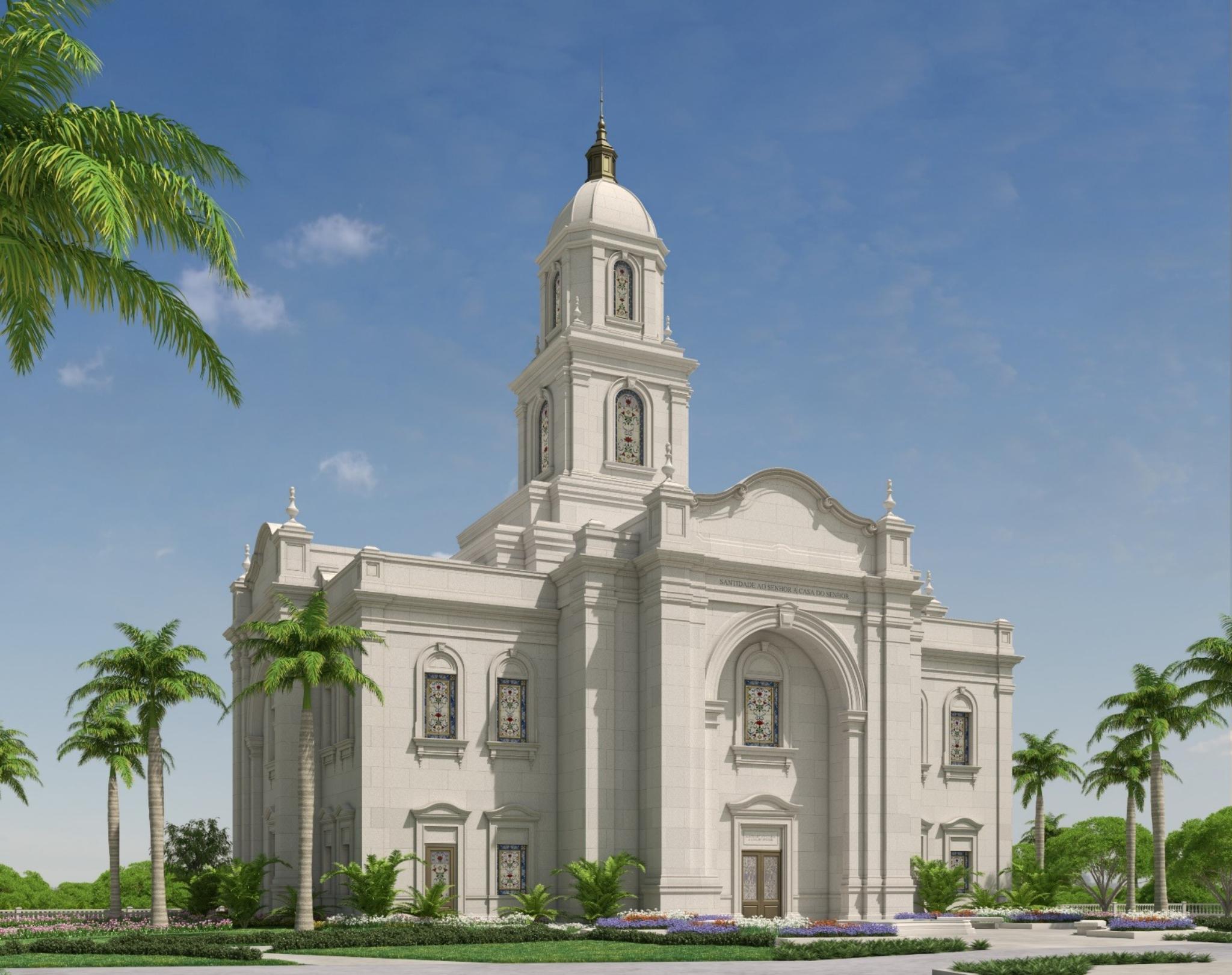 Salvador Brazil Temple Rendering | Intellectual Reserve