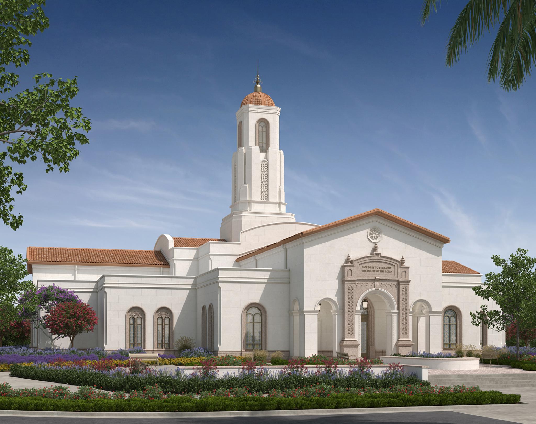 The Yorba Linda California Temple   Intellectual Reserve